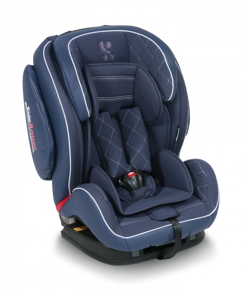 babashop.hu - Lorelli Mars SPS Isofix autósülés 9-36kg - Dark Blue Leather 2017