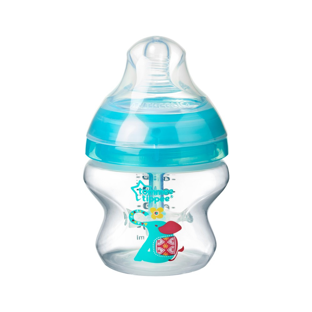 babashop.hu - Tommee Tippee Advanced Anti-colic cumisüveg 150ml türkiz