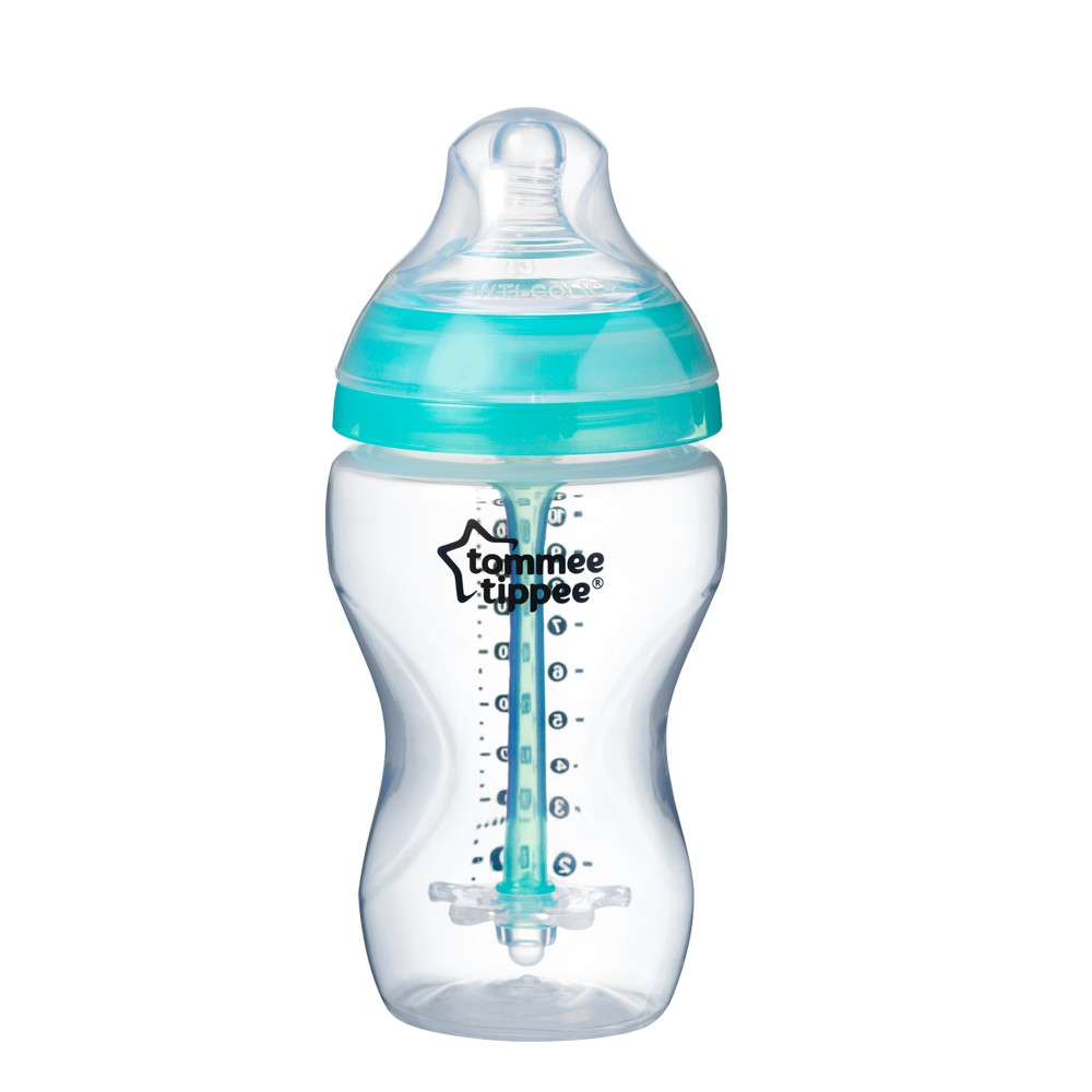 babashop.hu - Tommee Tippee Advanced Anti-colic cumisüveg 340ml türkiz