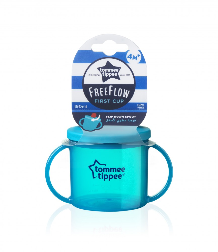 babashop.hu - Tommee Tippee FreeFlow First Cup pohár 190ml 4+