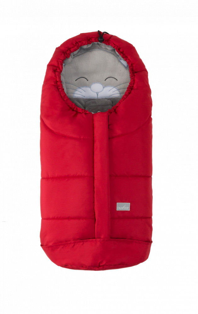 babashop.hu - Nuvita Ovetto Cuccioli bundazsák 80cm - Cat Red / Gray - 9205