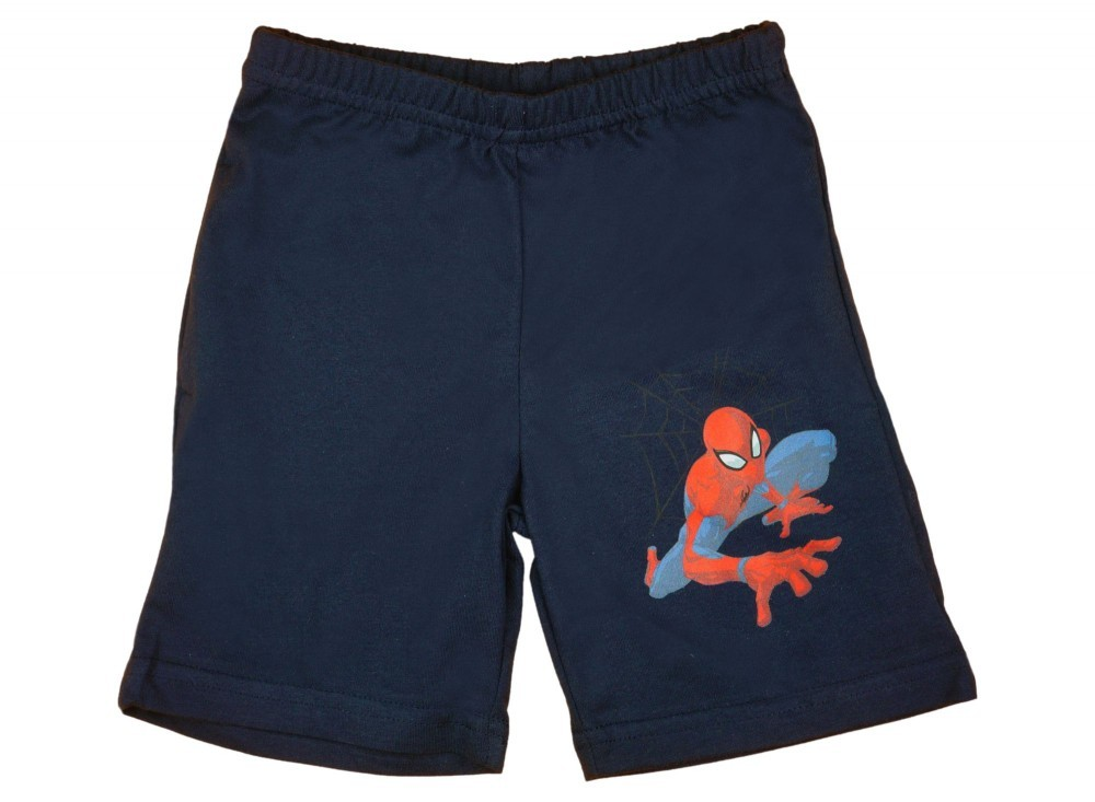 babashop.hu - Spider-Man pattern boy cotton short